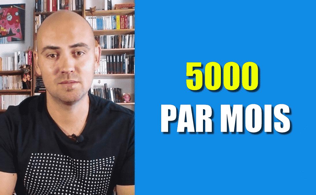 5000 PAR MOIS PARIS SPORTIFS