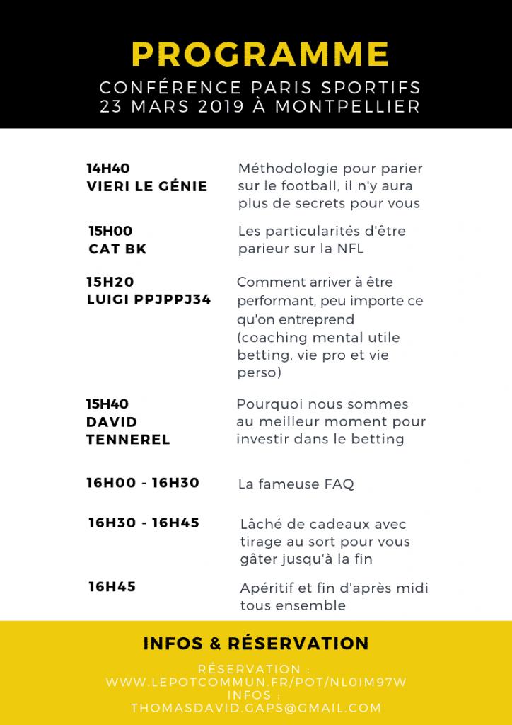 conference paris sportifs 2