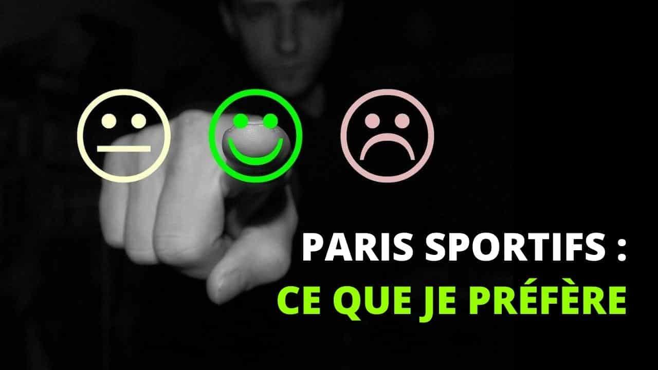 L'argent n'est pas la priorité (paris sportifs)