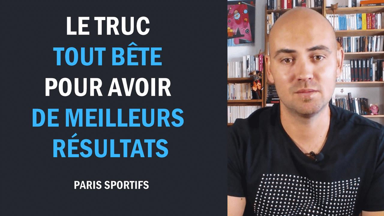 Paris Sportifs Le TRUC tout bête pour avoir de meilleurs résultats