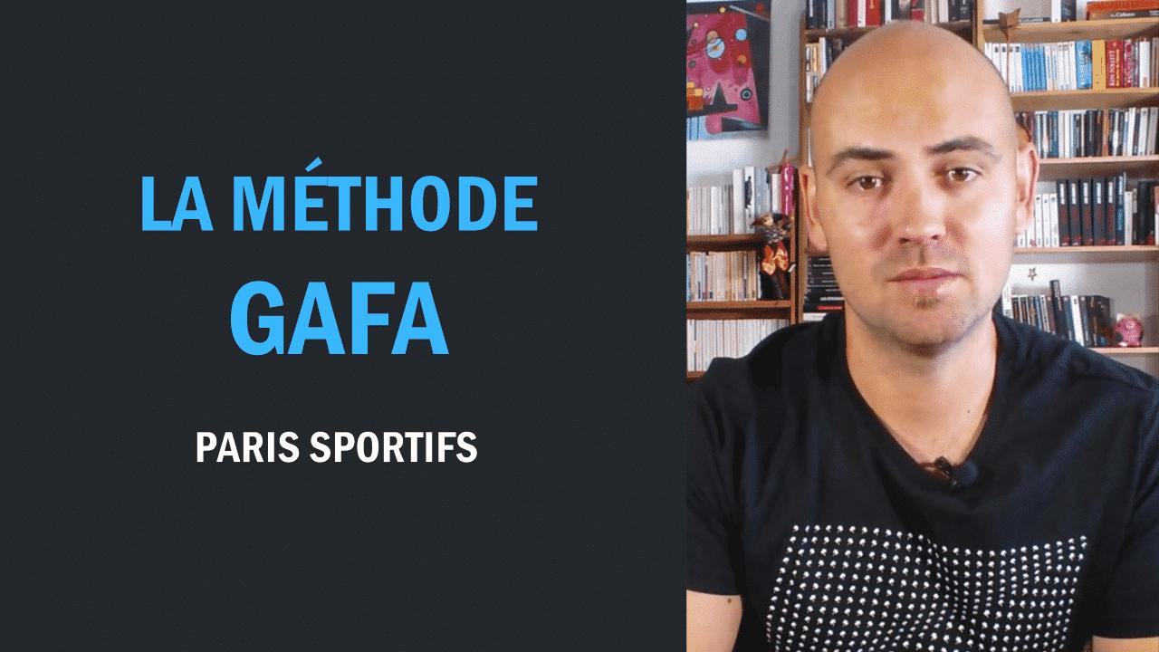 Paris sportifs La méthode GAFA