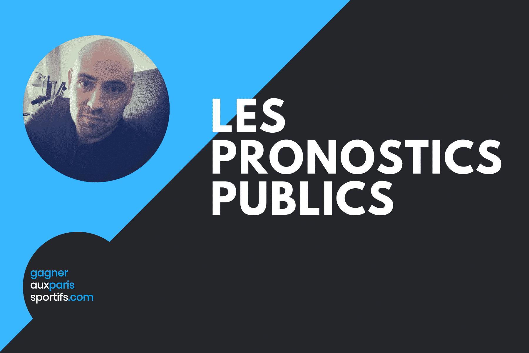 Les pronostics publics