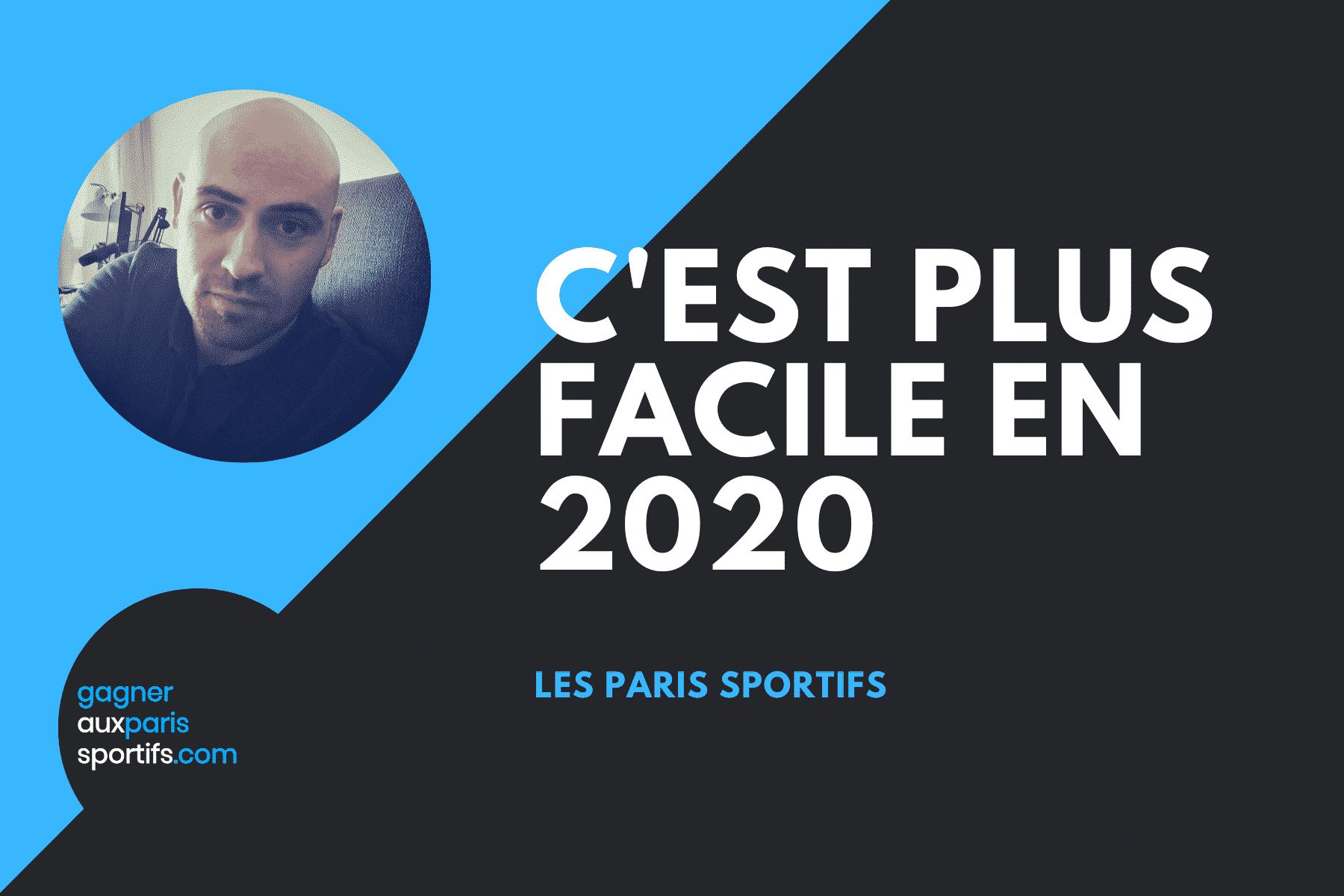 PARIS SPORTIFS : C'EST PLUS FACILE EN 2020