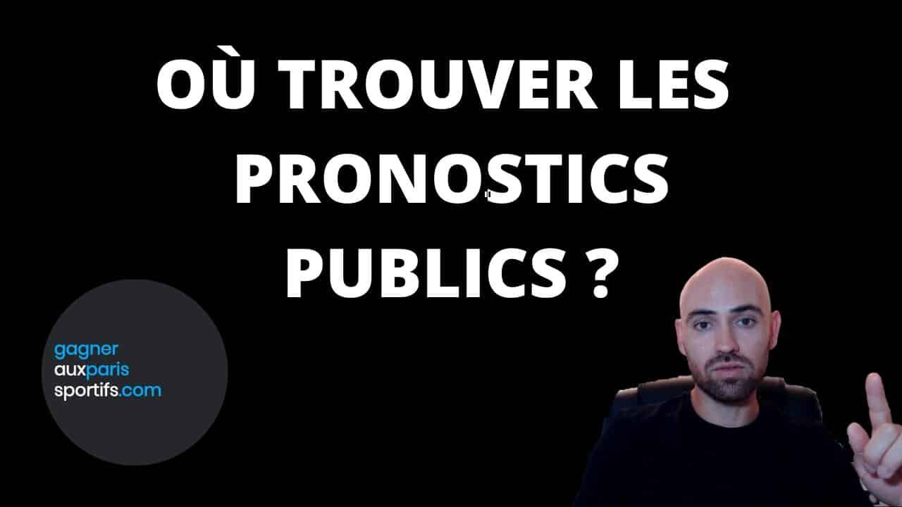 Ou trouver les pronostics publics