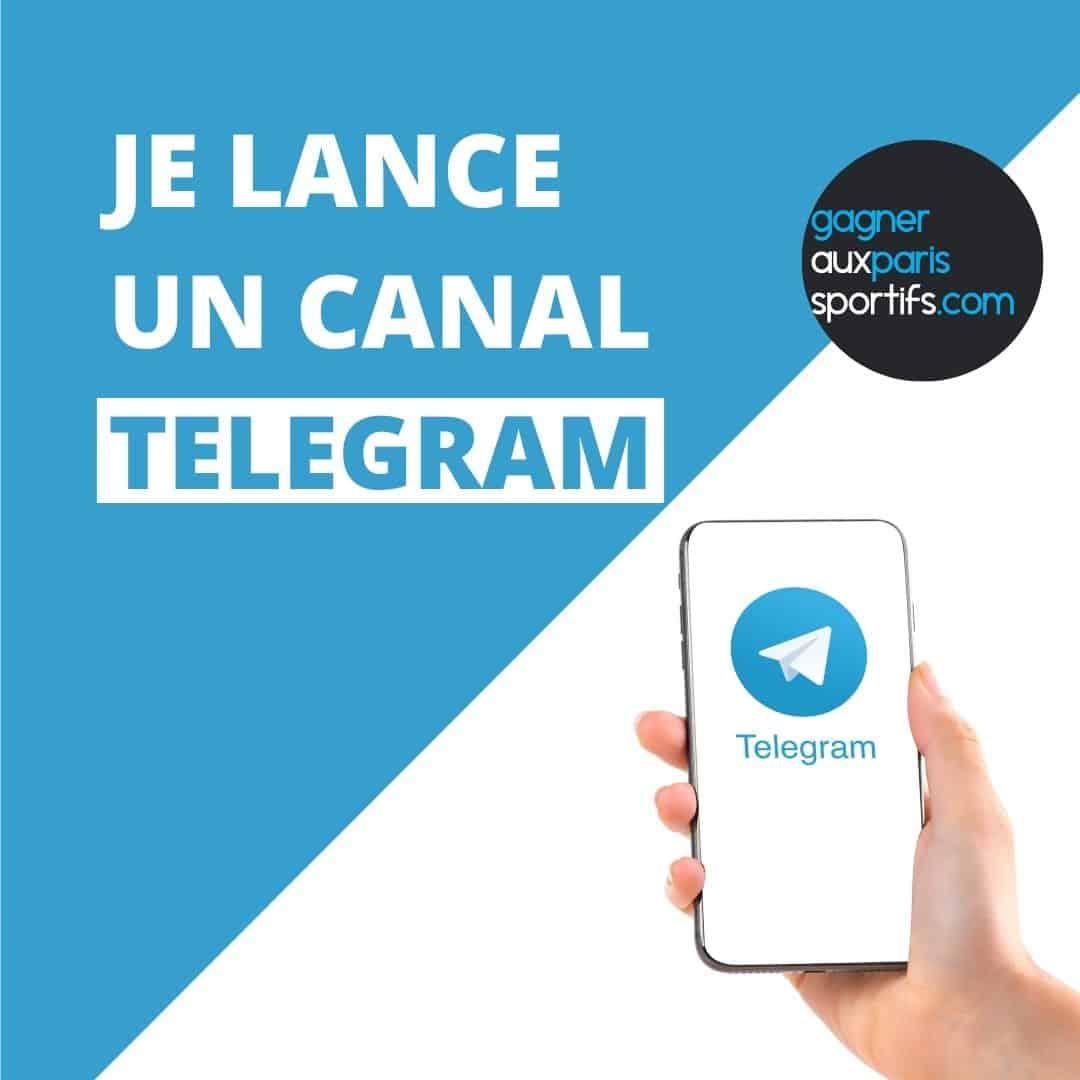 Je lance un canal Telegram