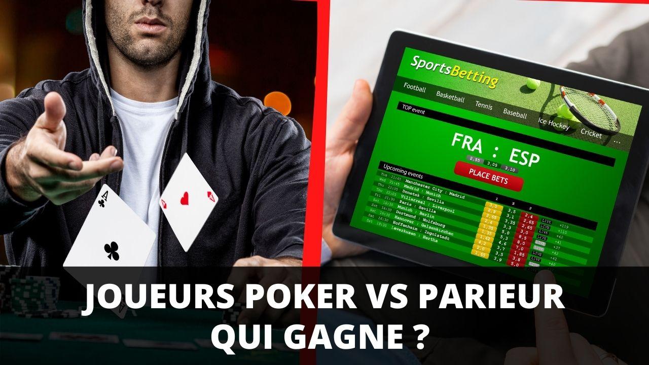 Pourquoi les joueurs de poker sont de meilleurs parieurs