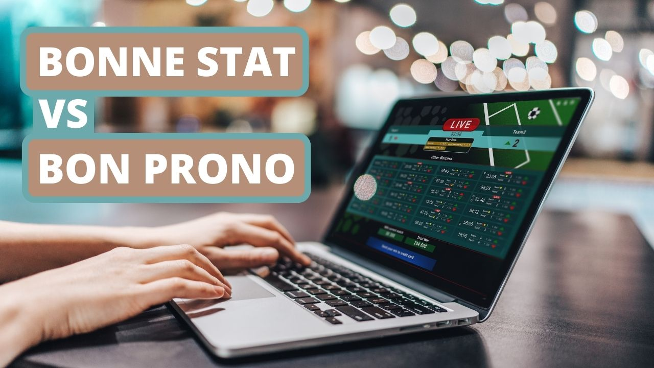 bonne statistique vs bon prono