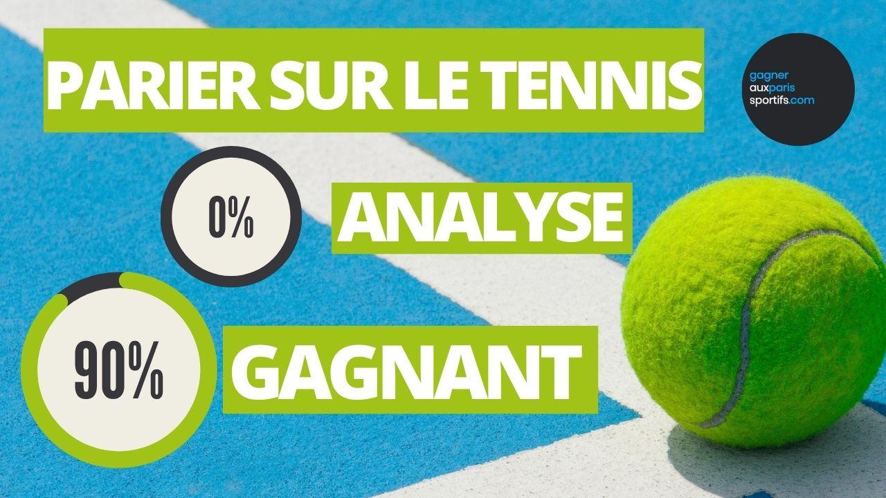 Comment gagner ses paris tennis sans analyser ni connaître les joueurs